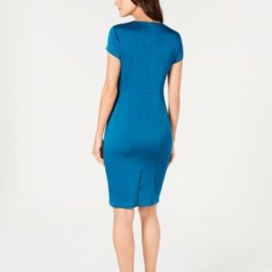 Nanette Lepore Dresses - Nanette Lepore City Ruched Sheath Dress 8